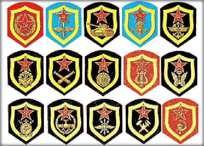 Шутливые характеристики разных родов войск