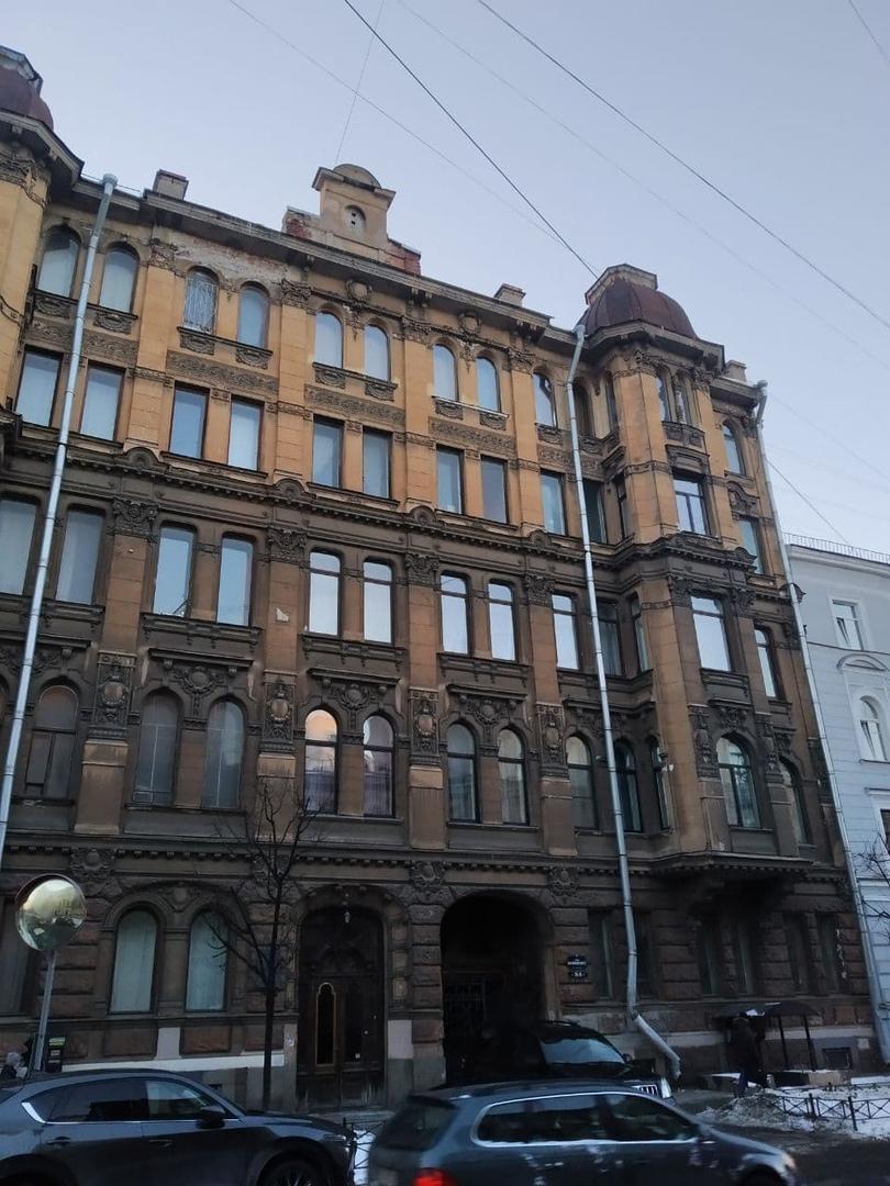 Сделал несколько фотографий Доходного дома Н.В. Чайковского