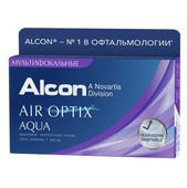 Контактные линзы AIR OPTIX AQUA MULTIFOCAL упаковка - 3 линзы