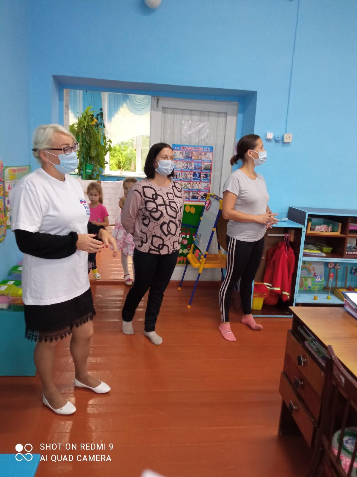 Родители Александровского детского сада подключились к акции