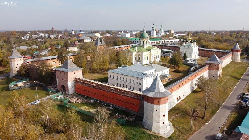 Зарайский кремль — самый маленький в России