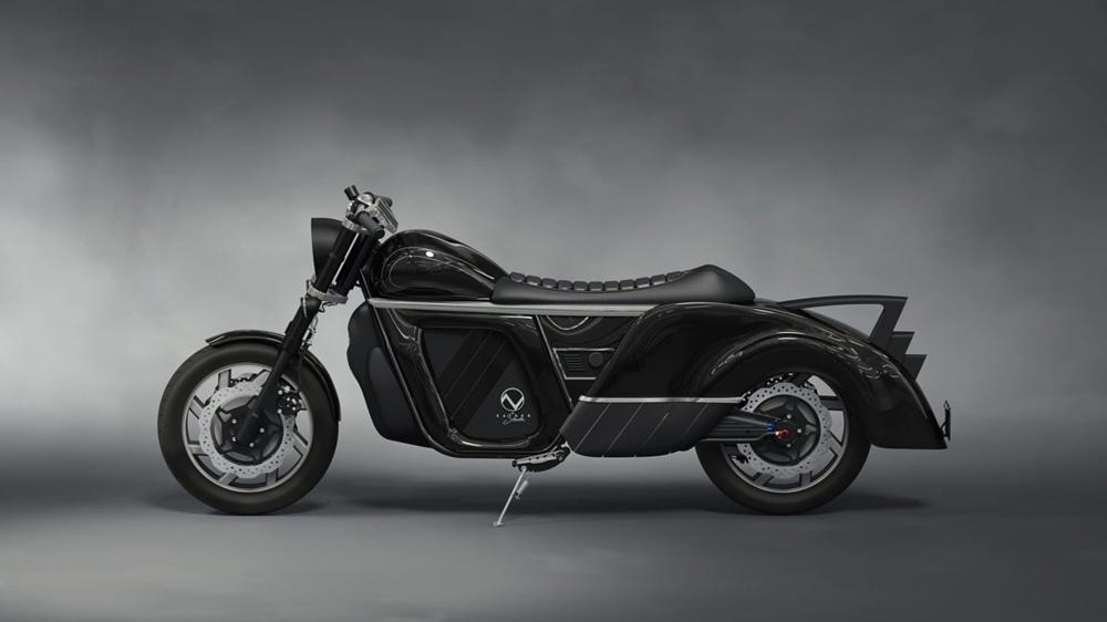 Электроцикл Zaiser Electrocycle с запасом хода почти 500 км