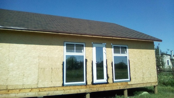 Энергоэффективный каркасный дом 9 х 12 с двойным к...