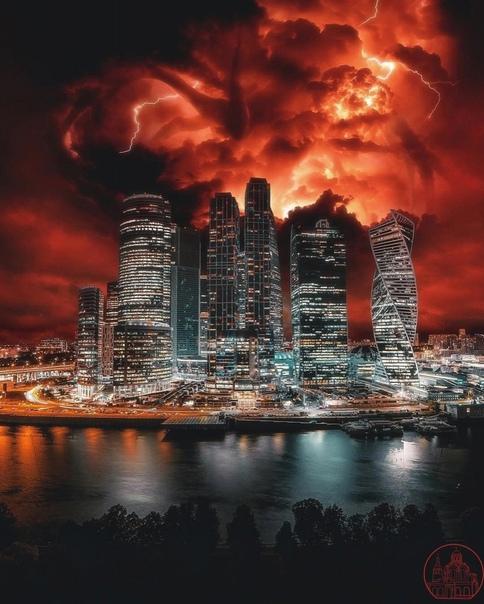 Как-будто злые силы завладели городом...  Очень эпичный к...