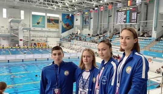 🏊 Воспитанники спортшколы «Олимп» привезли сразу н...