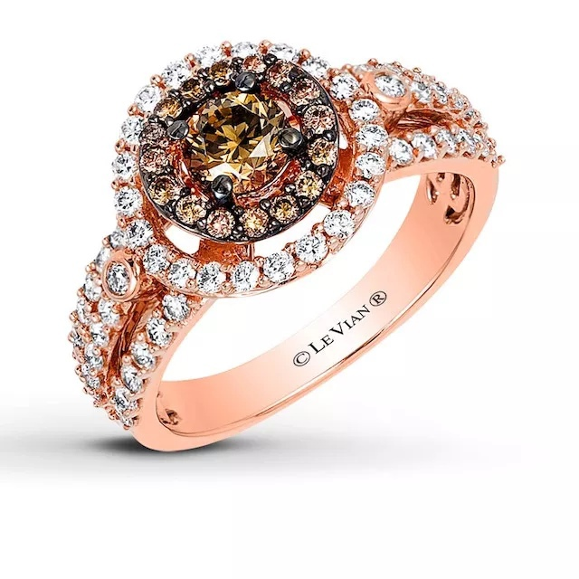 fwRVzQC0ov4 - Шоколадные бриллианты в обручальных кольцах - звучит мечтательно