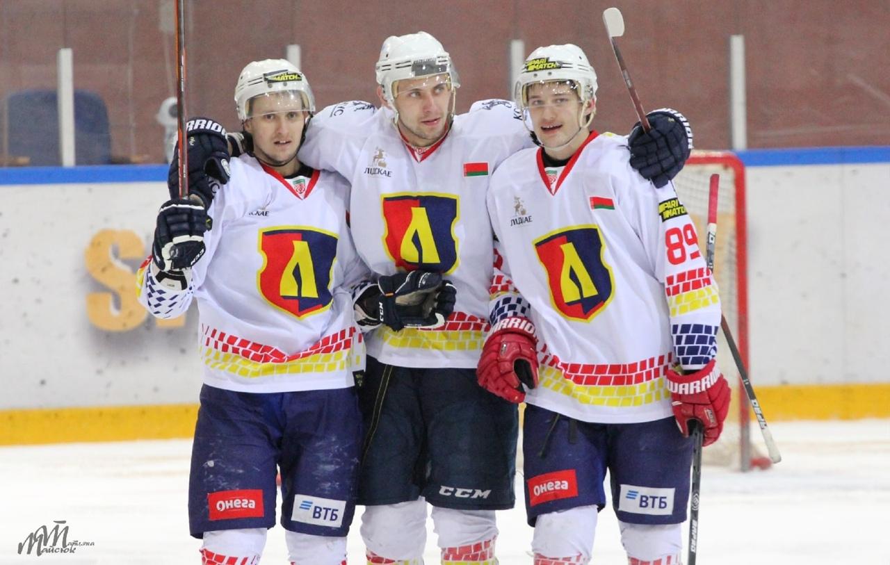 Хоккейный клуб «Лида» обыграл «Авиатор».