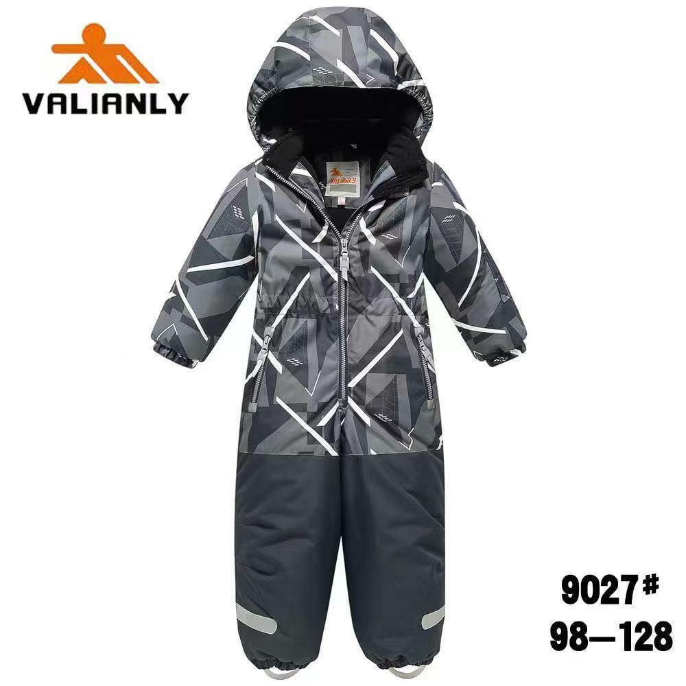 Зимний комбинезон Valianly 9027 серый
