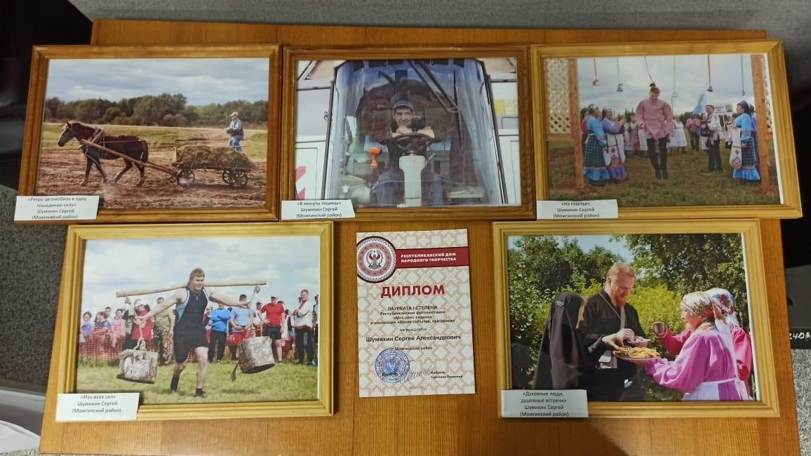 Работы фотографов-любителей Можгинского района - среди лучших