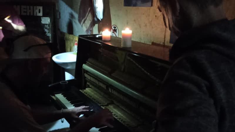 Встречаем в Барракуде пианино