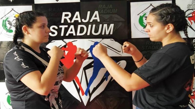 NALLY VIEIRA CLUBE DA LUTA vs MICHELLE TRIBO DE JUDÁ 85 KG CHAMPIONS FACTORY RAJA STADIUM