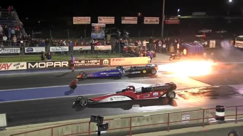 JET CARS At Bandimere Speedway 2013