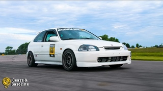 K-Swap Civic Finally Hits the Track! - Gridlife Spring Kickoff