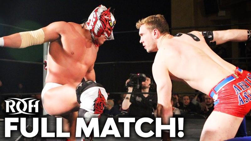 Dragon Lee vs Will Ospreay FULL MATCH ROH Manhattan Mayhem 2017