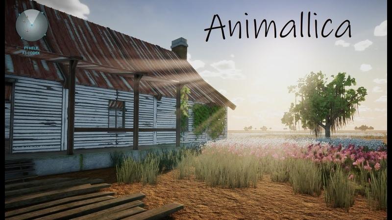 Animallica 3 Место для дома и сбор ресурсов лутание
