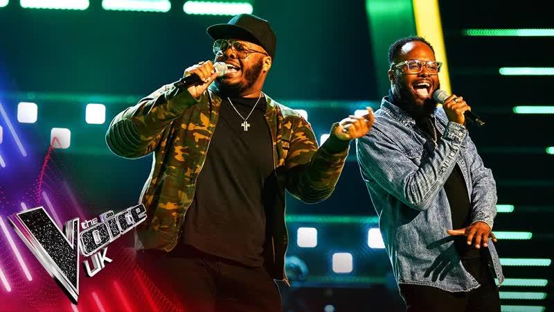 Jordan and Wesley Go Get It The Voice UK 2021