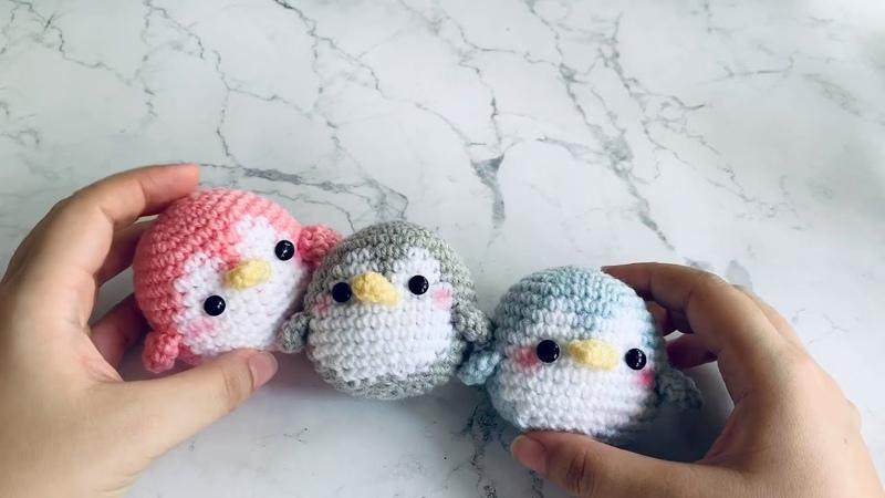 Baby Penguin Crochet Doll for beginners