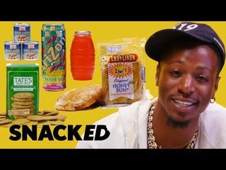 Joey Bada$$ Breaks Down New York Bodega Snacks   Snacked