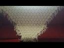 YILDIZLI ŞAL MODELİ YAPILIŞI/ construction of a dowry shawl
