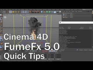 FumeFx 5.0 for Cinema 4D Quick Tips