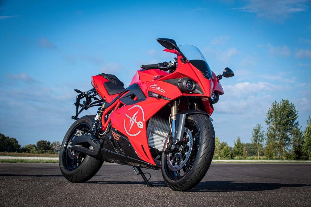 Электроциклы Energica RS 2021