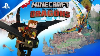 Minecraft - Dreamworks Dragons DLC Available Now | PS4