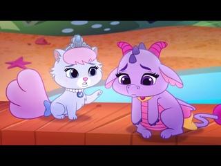 Пушистые истории - Сезон 3 l Мультфильм Disney - Королевские питомцы! Принцессы их обожают!