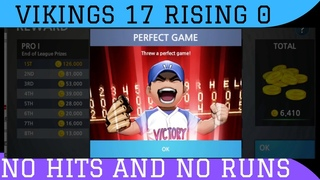 ✅ BASEBALL 9 LIGA PRO WIN 17 - 0 NO HITTERS AND PERFECT GAME
