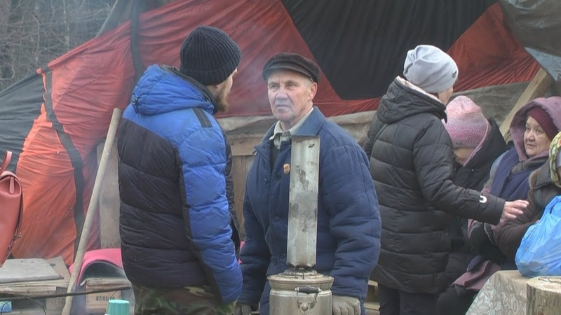 Шиес 2. Очаг сопротивления. Палаточный лагерь в Татарстане.
