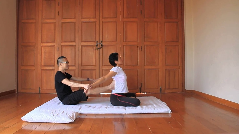 Row Boat (Aviron) - Reviewing Thai Massage Techniques with Kam Thye Chow
