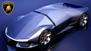 Lamborghini's New EV concept design revealed | Concept Vehicle 81