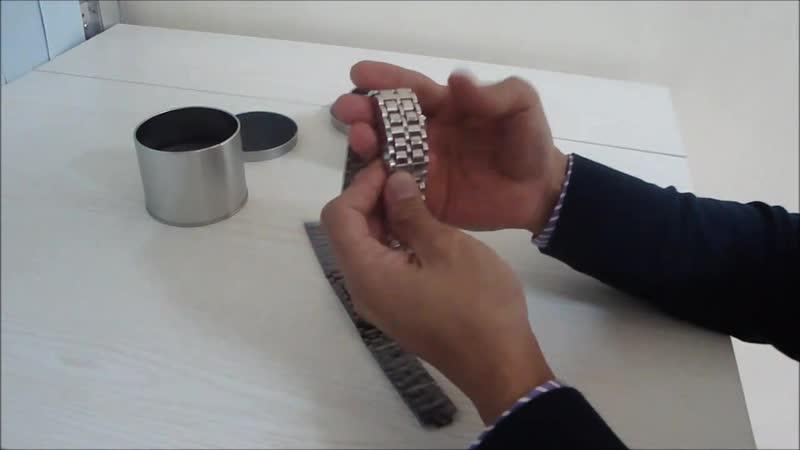 Led Watch - часы Самурай Iron Samurai наручные черные с красными диодами