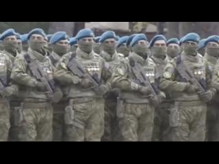 В Баку идёт военный парад, посвящённый победе в Карабахе
