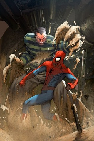 sandman spiderman name - 525×787