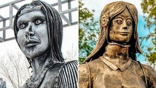Не только Аленка: 6 странных и халтурных памятников России