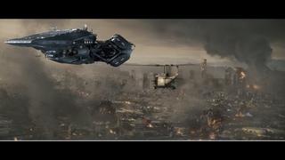 военная база сша была уничтожена одним ударом космического нло !