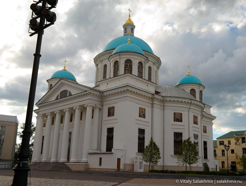 Собор казанской иконы Божьей Матери, Казань 2020