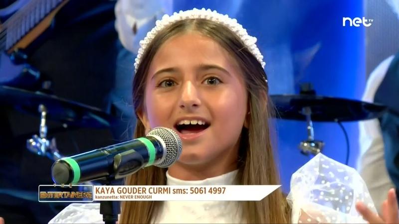 Kaya Gouder Curmi Never Enough Entertainer's Singing Malta