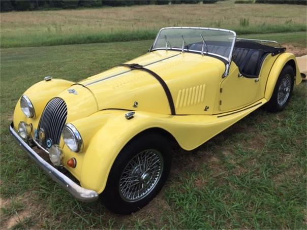 Morgan 4/4 первый автомобиль английской компании Morgan Motor с четырьмя колесами. До него компания производила трёхколёсные автомобили