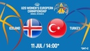 LIVE 🔴 - Iceland v Turkey - FIBA U20 Womens European Championship Division B 2018