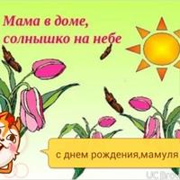 Фотография страницы Зули Меликовой ВКонтакте