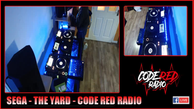 SEGA LIVE AT THE YARD ISOLATION TANK DIRTY DRUM N BASS CRR