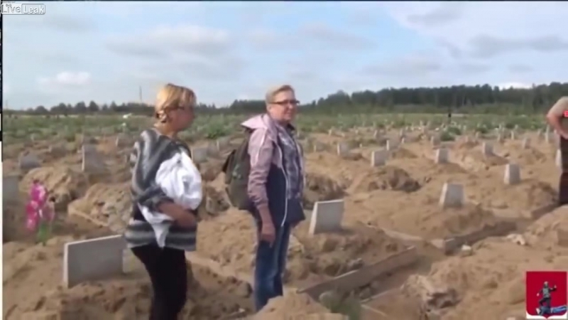 Liveleakcom In Russia volontaires found approx 1600 fresh graves Hidden near of small town