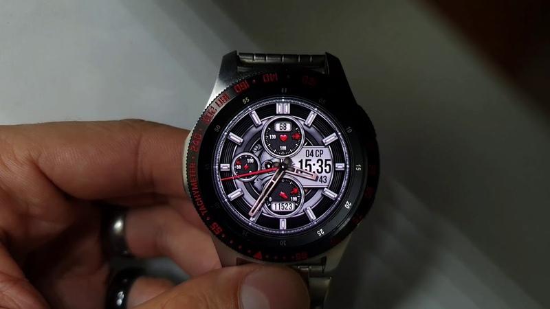 SATO TRAMSFORMER WW29 Multilang multicolor watchface for Samsung Gear Samsung Galaxy watch