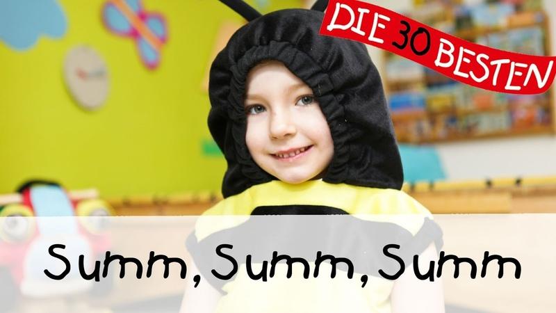Summ summ summ Singen Tanzen und Bewegen Kinderlieder