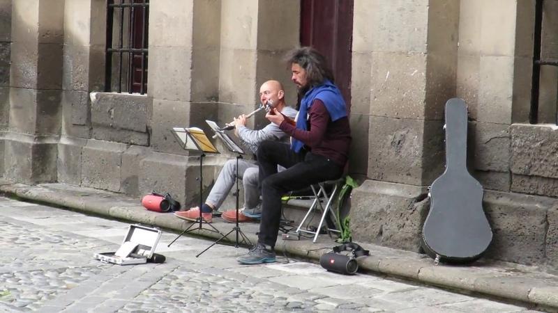 Уличные музыканты на Гран Канарии