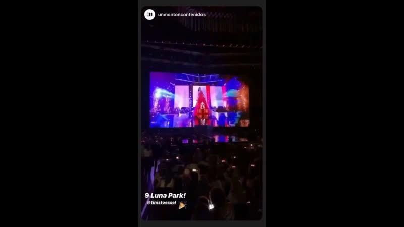 QuieroVolverTour✨9 show Luna Park😱😱05 12 2019