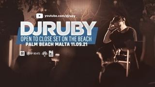 DJ Ruby Open To Close Live Video Set at Palm Beach Malta