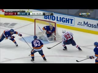 Evgeny Kuznetsov Powers By Islanders And Scores On Semyon Varlamov
