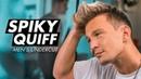 Spiky Quiff Undercut Mens Short Hair Stefan Jankovic